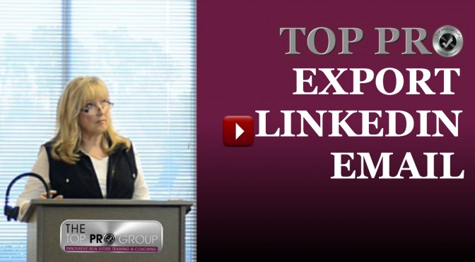 Find & Export LinkedIn Email Addresses
