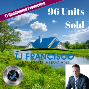 Best Real Estate Coach - 96 Units Sold TJ